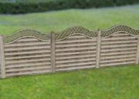 Gaugemaster GM452 OO Gauge Wooden Fencing Lattice Top Laser Cut Kit