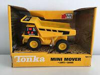 Tonka Mini Mover Dump Truck Construction Vehicle Car Light & Sound Kids Toy