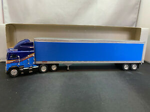 Tonkin Freightliner COE Tractor Truck With Fruehauf Trailer 1/53 Scale Diecast