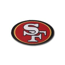 "Small (4 1/2"" X 2 7/8"") San Francisco 49ers embroidered patch - Wax Backing"