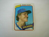 1980 TOPPS ROBIN YOUNT # 265 GREAT INVESTMENT POTENTIAL HOF BREWERS
