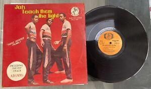 "Third Degree Family ""Jah Teach Them The Light"" Afro Reggae Boogie LP Masco"