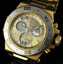Invicta PLATINUM SELECT Akula SWISS MADE Chronograph SAPPHIRE 18K Gold Watch NEW