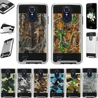 For LG Xpression Plus 2018 Hybrid Phone Case Cover Metaguard K11