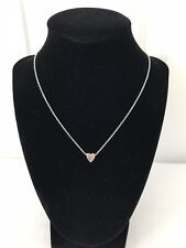 Dainty Heart Chain Necklace OS
