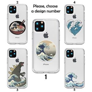 The Great Wave case for iPhone 12 11 Pro Max XR SE X XS 8 7 6 silicone SN