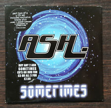 Ash Sometimes CD Single Teenage Kicks B-side