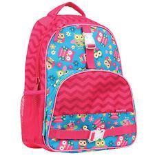 Stephen Joseph Girls All Over Print Owl Backpack - School Book Bags for Kids