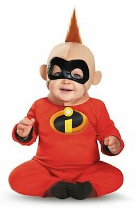 Deluxe Baby Jack Jack Child Infant Costume Size 12-18 Months NEW The Incredibles
