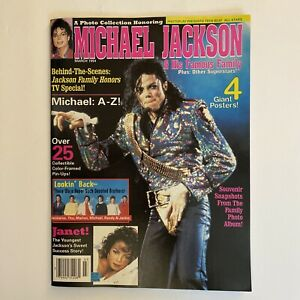Teen Beat Magazine 1994 Special Jackson Family Edition Michael & Janet POSTERS