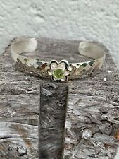 Wide Contemporary Decorative 100% Sterling Silver 925 Cuff Bracelet, 25 grams