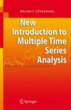 New Introduction to Multiple Time Series Analysis by Helmut Lütkepohl (2007,...