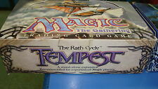 Magic the Gathering Mtg Empty Tempest Booster box!