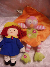 "Madeline Baby Doll 10"" Eden Baby Starters Owl Lovee Baby Soft Plush Toy 13"""