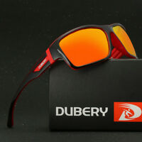 DUBERY Mens Polarized Sunglasses Outdoor Sport Riding Fishing Square Eyewear New