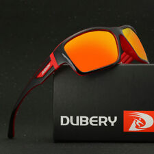 DUBERY Mens Sport Polarized Sunglasses Outdoor Riding Fishing Square Eyewear #4