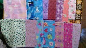 Lot of 19 Quilt/Craft Prints, Great variety, total 6 yds