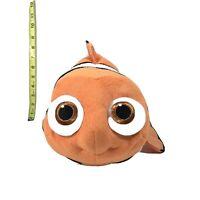 """Disney Store Genuine Original Authentic Nemo 16"""" Plush Orange White"""