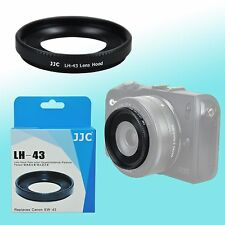 EW-43 Metal Lens Hood Shade fits Canon EF-M 22mm f/2.0 STM EOS M 43mm Thread JJC