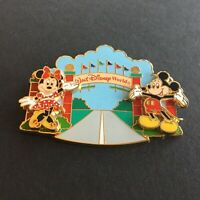 Magical Transportation Entrance Sign Mickey Minnie Completer Disney Pin 45685