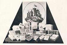 Tabac Kreymborg Geestemünde publicitaires historique des 1924 TABAC USINE Wenke Sch. Frisés