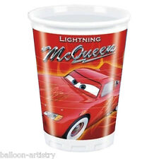 Disney Cars Lightning McQueen 8 Plastic Party Cups