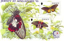 Jersey Butterflies min sheet mnh-1995
