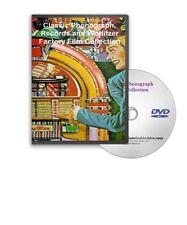 Classic Phonograph Vinyl Records Wurlitzer Films DVD - A205