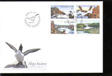 Suecia 2005 Águilas/Faro/Raptors FDC 4v (n13640)