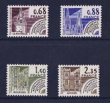 timbre France préoblitéré   monuments     n° 162/65  **