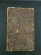 ANTIQUE Early 1820s A Compendious Dictionary of the English Language by Noah Web
