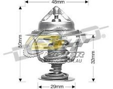 DAYCO Thermostat FOR Toyota Hilux 4 Runner 10/89-12/90 2.2L 8V OHC EFI YN130R 4Y
