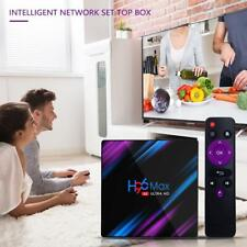More details for h96 max android 9.0 smart tv box 24gb+64gb media player 4k 2.4g/5ghz wifi uk