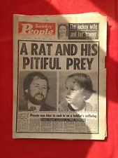 Sunday People newspaper 3rd July 1977