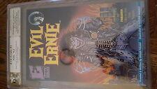 Evil Ernie #1 PGX 9.2 signed x2