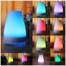 100ML LED Ultrasonic Humidifier Aroma Essential Oil Diffuser Air Purifier