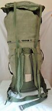 GENUINE Vintage FRENCH ARMY F1 Rucksack BACKPACK 65L