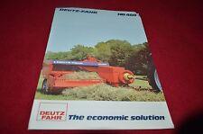 Deutz Fahr HD460 Baler Dealers Brochure YABE12