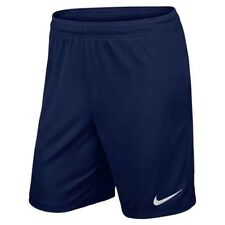 Nike Park II Knit Dri Fit Mens Adults Sports Football Gym Casual Shorts Navy