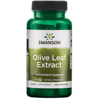 Swanson Extra Strength Olive Leaf Extract Capsules, 750 mg, 60 Ct