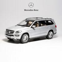 Original 1:18 Scale Mercedes-Benz GLS 500 GL-Class Diecast Car Model Silver