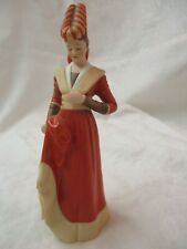 Vintage Lenox Great Fashions of History Figurine Catherine Medieval