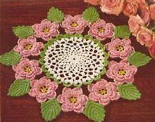 Vintage Crochet Centerpiece Doily #18 Pattern Only