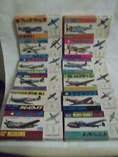 Joblot 12 x Vintage Crown Aircraft Kits 1/144  Unmade Sealed