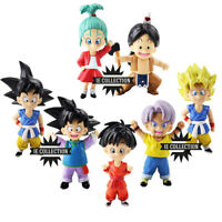 DRAGON BALL SUPER 7 STATUETTE GRANDI 10 CM PORTACHIAVI bra upa goten pan trunks
