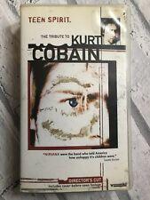 Teen Spirit The Tribute To Kurt Cobain Nirvana Directors Cut UK VHS Video