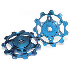 XLC a02 schaltröllchen 11 dientes azul desviador papel pulley schaltwerksröllchen