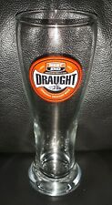 RARE COLLECTABLE 425ML WEST END DRAUGHT BEER GLASS IN USED CONDITION