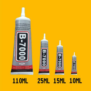 B-7000 Glue Industrial Adhesive for Phone Frame Bumper 25ml 50ml 110ml 15ml 10ml