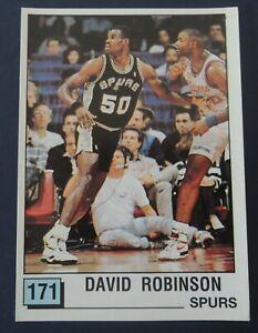 David Robinson NBA 90 Panini ROOKIE sticker RARE!!!